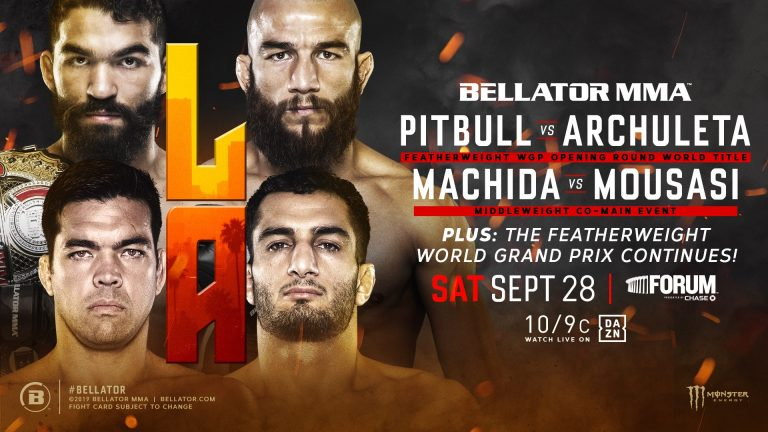 Pitbull vs The Spaniard & Machida vs. Mousasi II set for Bellator 228