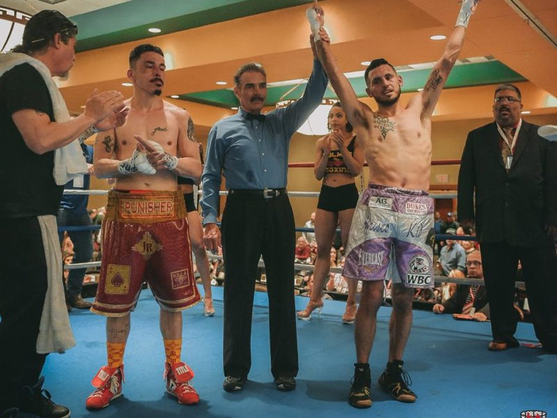 "The Atrisco Kid Headlines Holmes Boxing ""Warriors Collide"""