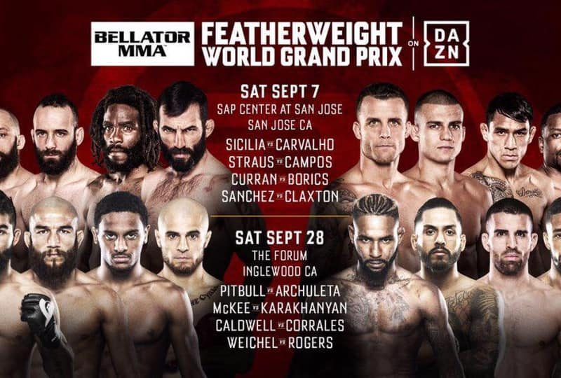 Bellator Featherweight Grand Prix Quarterfinals laid out
