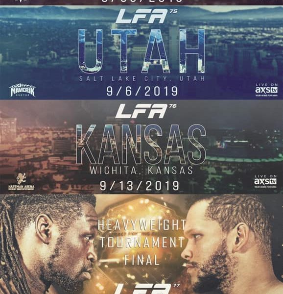 LFA Announces a Quartet of Events Including Stage for Heavyweight Tournament Finals
