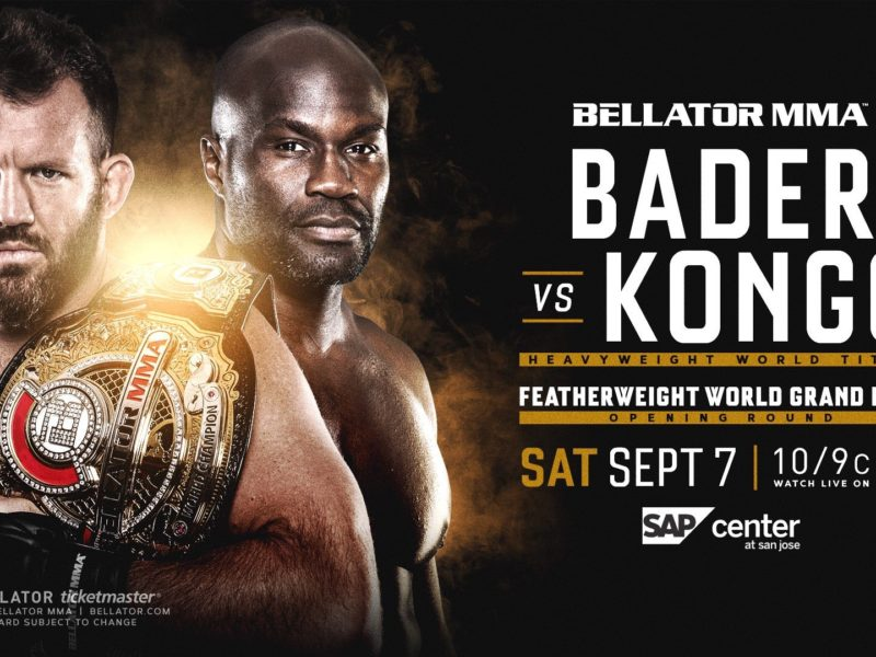 Bellator MMA Announces Bader-Kongo Title bout for September