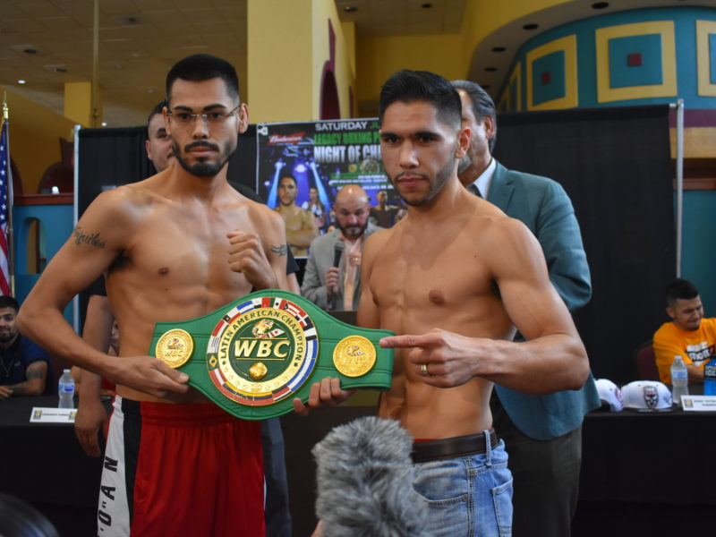 Night of Champions weigh-in coverage