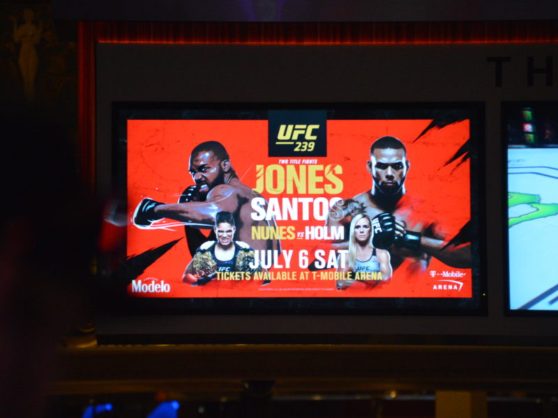 Images of UFC 239 Fight Week