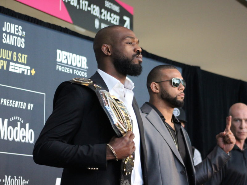 UFC 239 weigh-in results