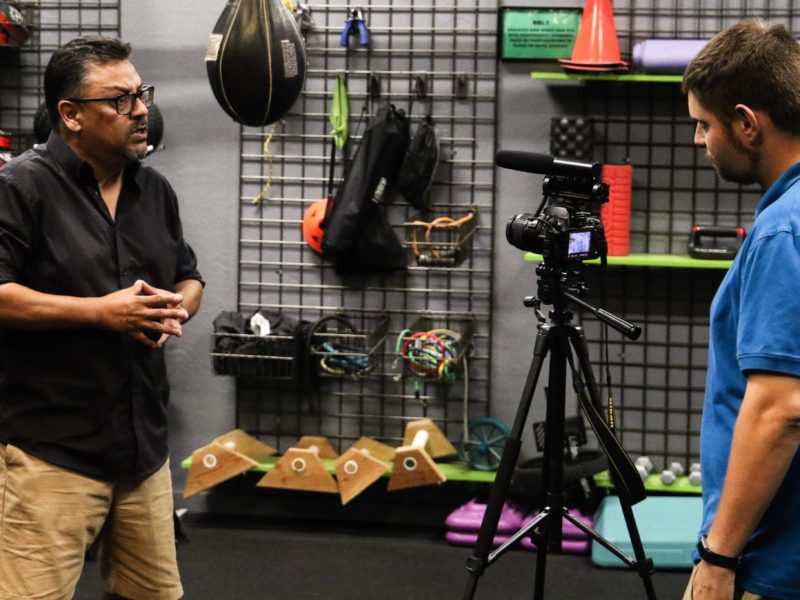Brain training for Combat Sports with Dr. Velasquez