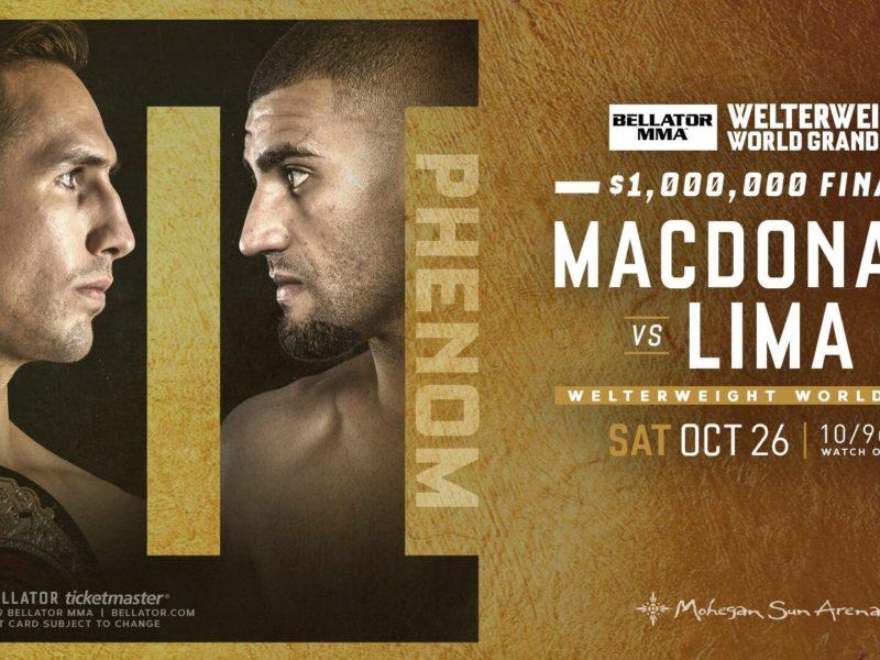 MacDonald vs. Lima 2 headlines Bellator 232