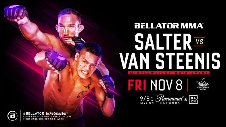 Salter vs. Van Steenis Headlined Bellator 233