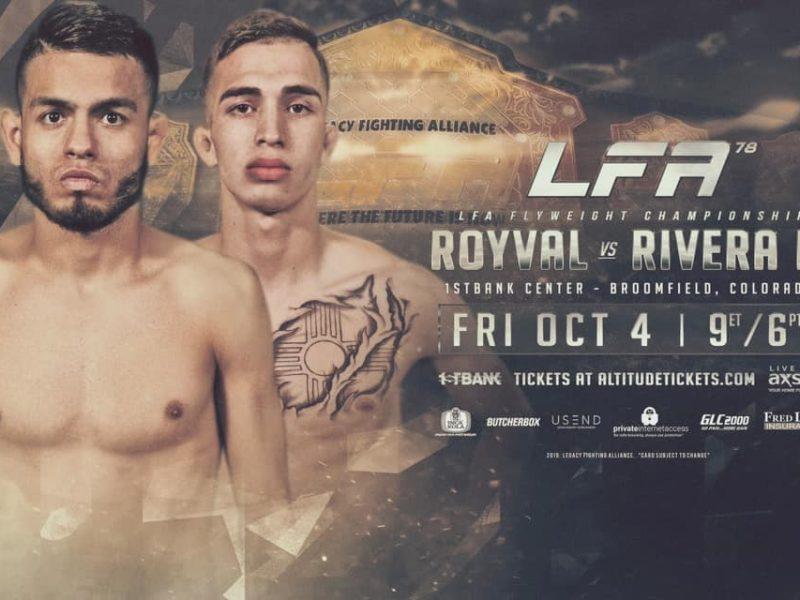 Royval-Rivera 2 is for the Flyweight Title & Headlines LFA 78
