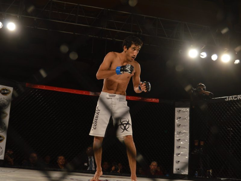 Josiah Reyes from Fending off his brothers to about to make his MMA pro debut
