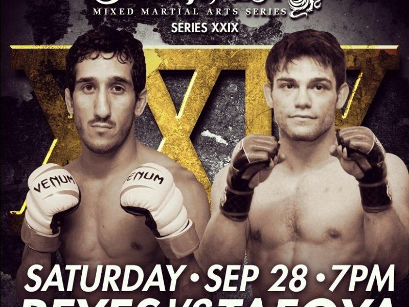 Trio of pro bouts top Southwest MMA Series XXIX