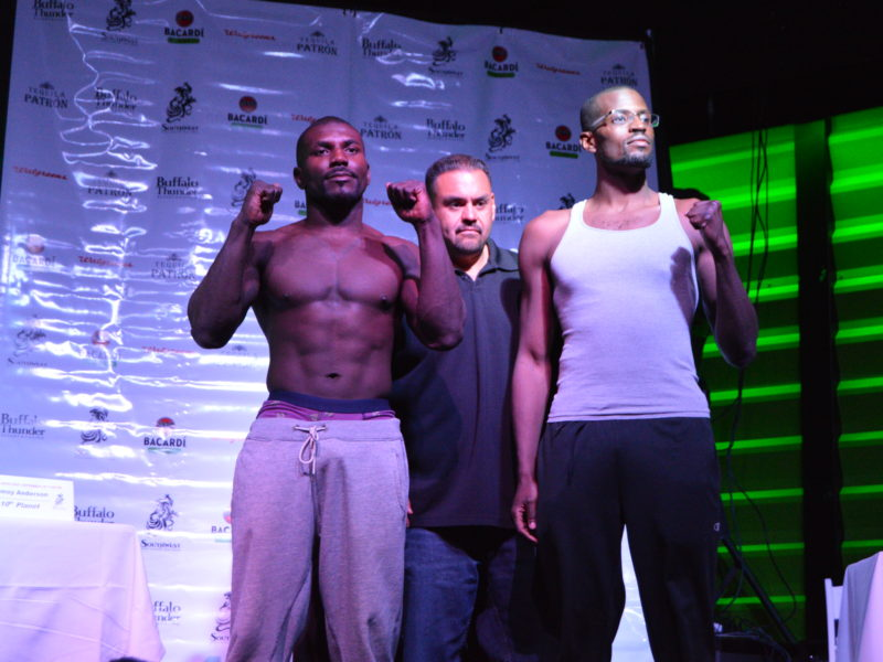 Southwest MMA Series XXIX Weigh-in Coverage