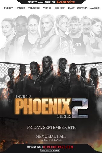 Invicta FC Phoenix Rising 2 Quick Results