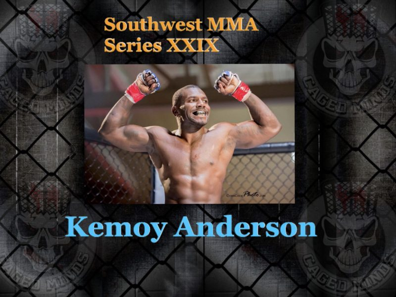Kemoy Anderson from wanting to get in shape to becoming a pro fighter