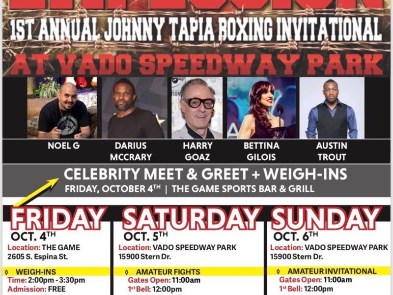 Details on Johnny Tapia Presents South West Explosion