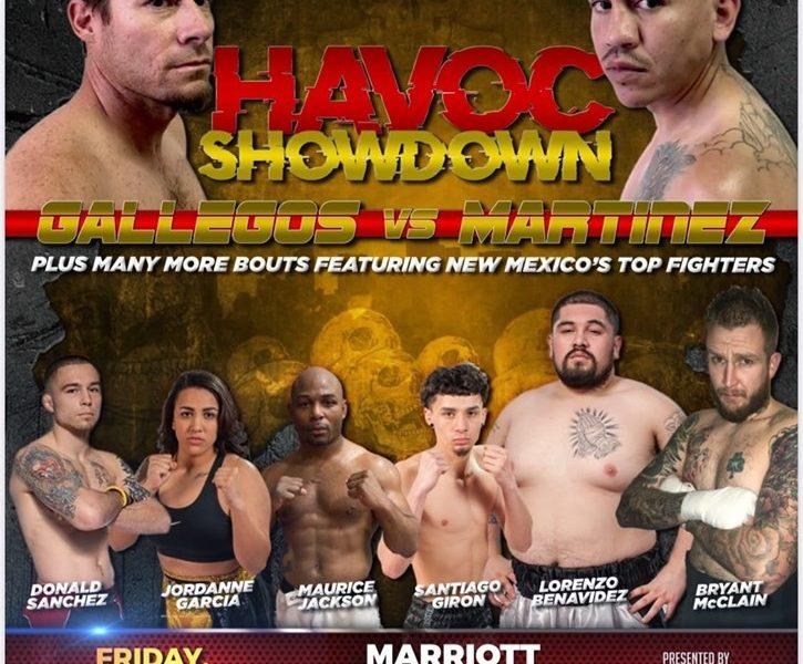 Holmes Boxing Presenting Havoc Showdown Nov. 1st