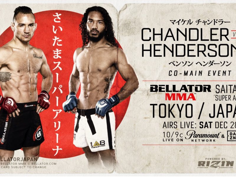 Chandler vs. Henderson 2 booked for Bellator Japan