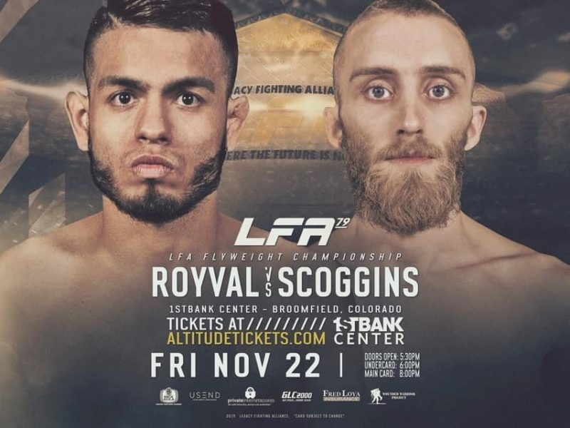 Royval vs. Scoggins Title Bout Headlines Rescheduled LFA 79