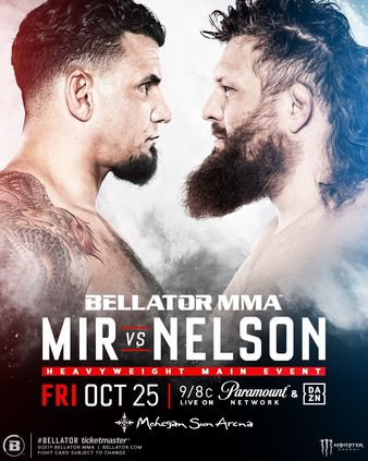 Bellator 231, Mir vs. Nelson II Quick Results