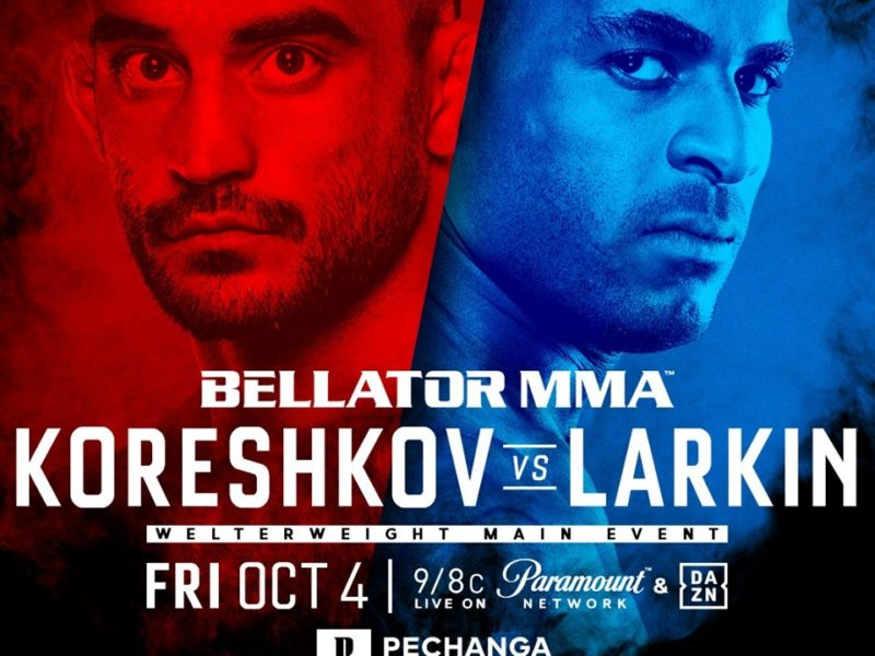 Bellator 229  Koreshkov vs. Larkin, Quick Results