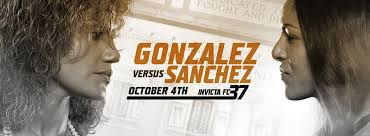 Invicta FC 37: Gonzalez vs. Sanchez, Quick Results