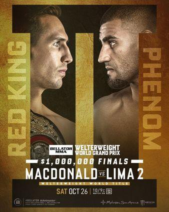 Bellator 232, MacDonald vs. Lima 2 Quick Results