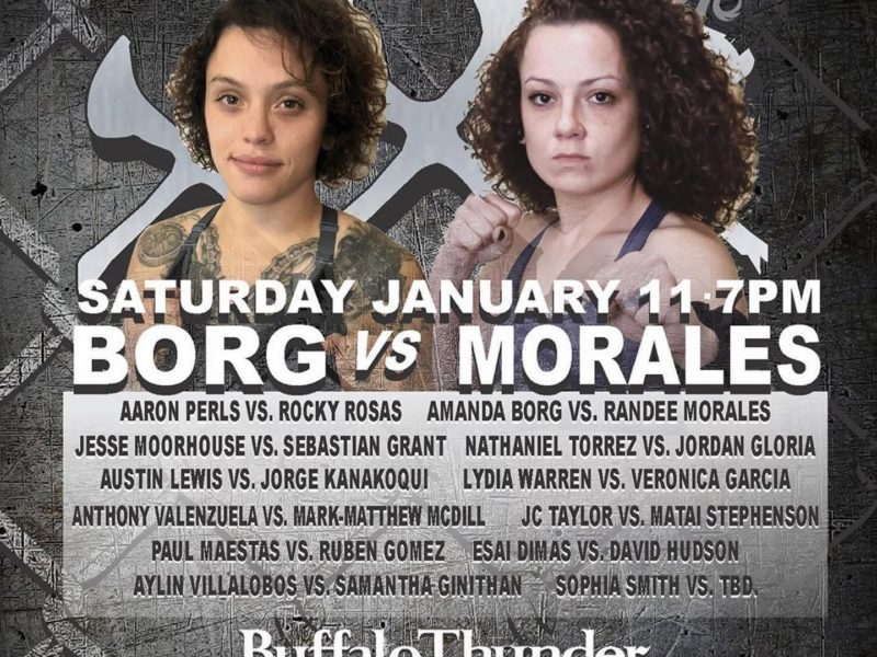 Borg vs. Morales set for Southwest MMA Series XXX