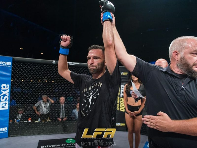 Kyle Estrada on LFA 78, his kicking game, & Maturing as a Martial Artist