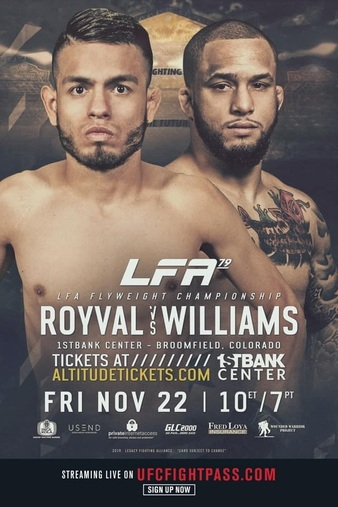 LFA 79 Weigh-in Results