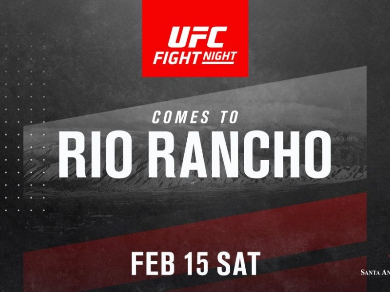 UFC Returns to New Mexico in February 2020