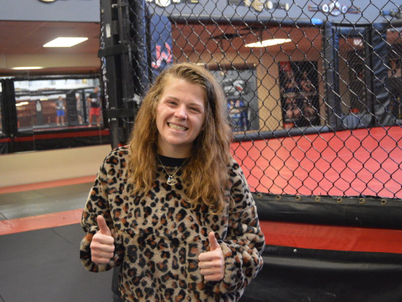 """Carsyn Nash on how a Couple """"games of chess"""" have led to an MMA career path"""