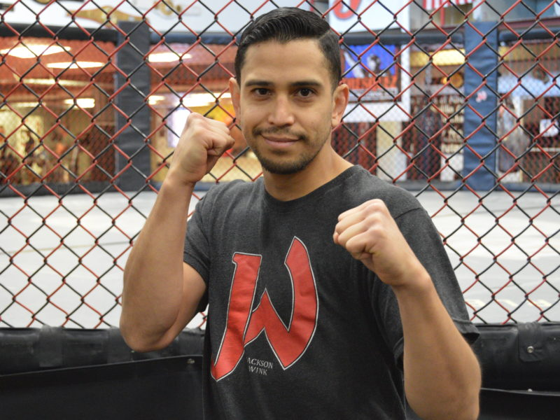 A confident Ben Acosta is happy to have had a full camp to show his skills at Glory 72