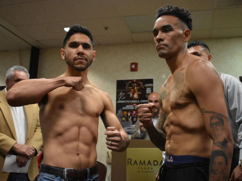 Legacy Boxing Promotions: New Era weigh-in Coverage