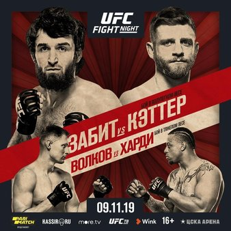 UFC Fight Night 163 Zabit vs. Kattar Quick Results