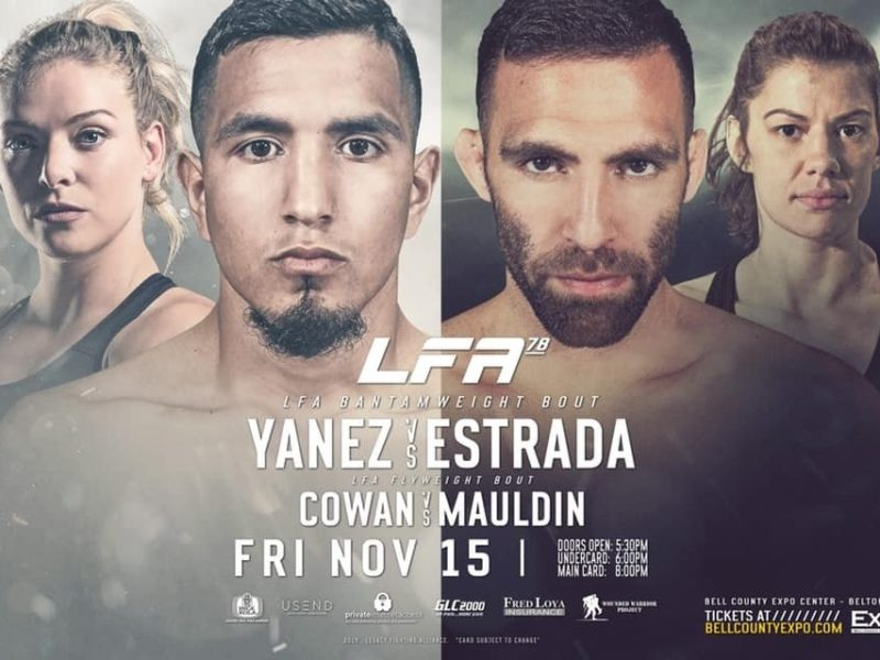 LFA 78 Yanez vs. Estrada Quick Results