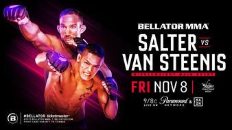 Bellator 233 Salter vs. Van Steenis, Quick Results