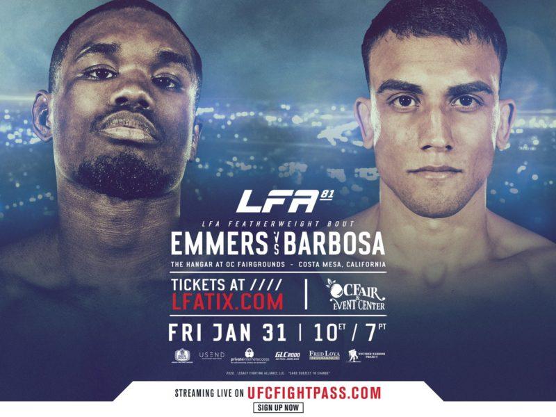 Emmers vs. Barosa Headlines LFA 81