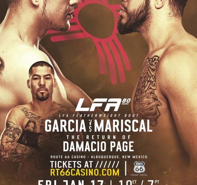 Garcia Jr. – Mariscal Headlines LFA 80