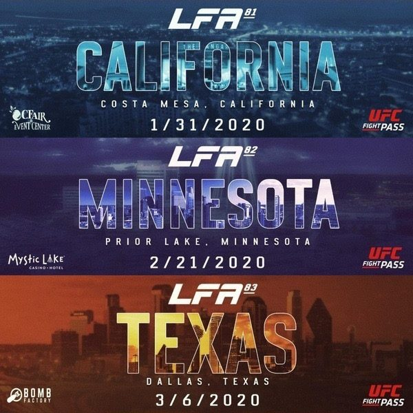LFA Announces Handful of Events for First Quarter of 2020