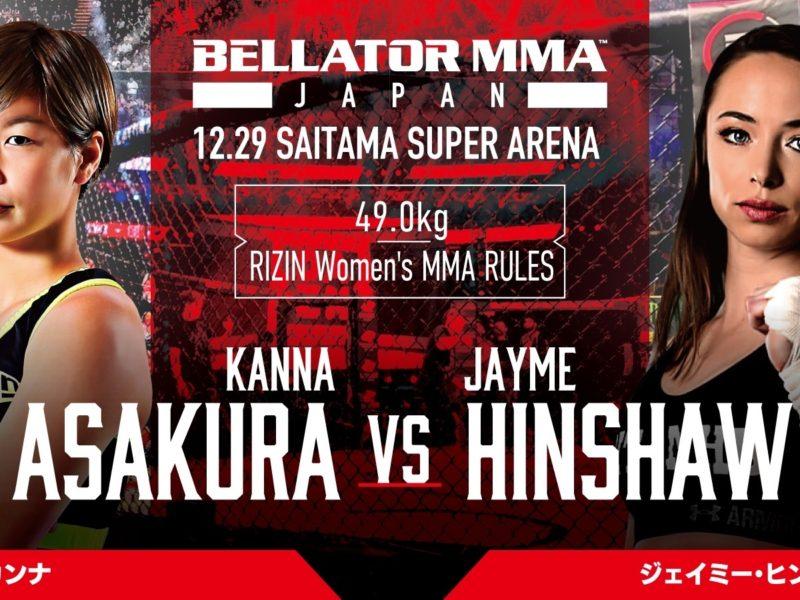 Jayme Hinshaw returns to action at Bellator Japan