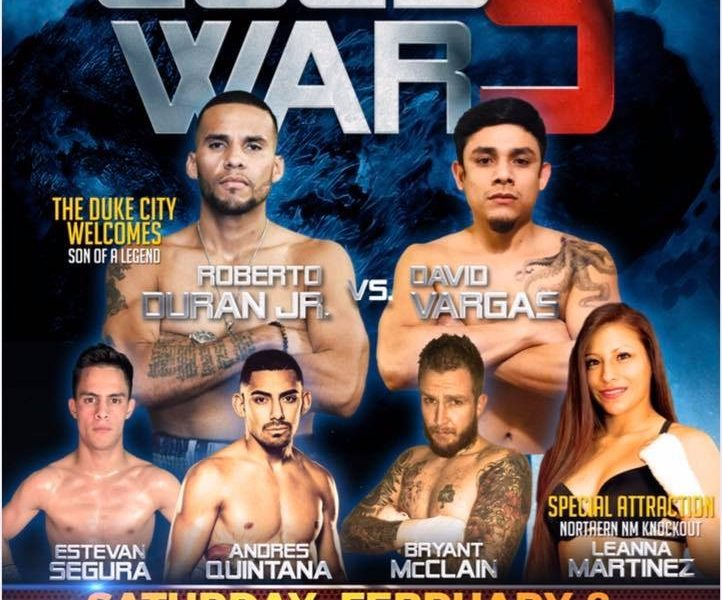 Cold War 5 topped by Roberto Duran Jr. vs. David Vargas