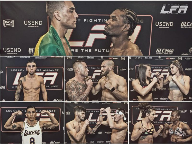 LFA 81 Emmers vs. Barbosa Results