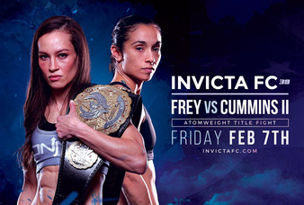 Frey-Cummins 2 Rebooked to headline Invicta FC 39