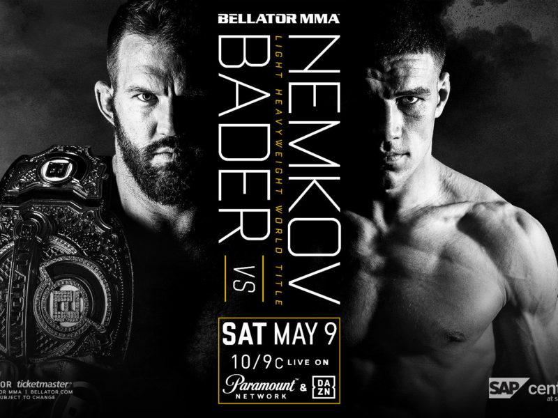 Bader-Nemkov title bout headlines Bellator 243