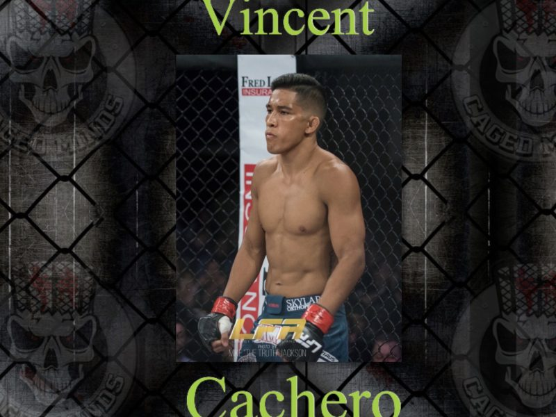 Vincant Cachero- talks LFA 81, Getting Mean in the Gym, & Performing under Pressure