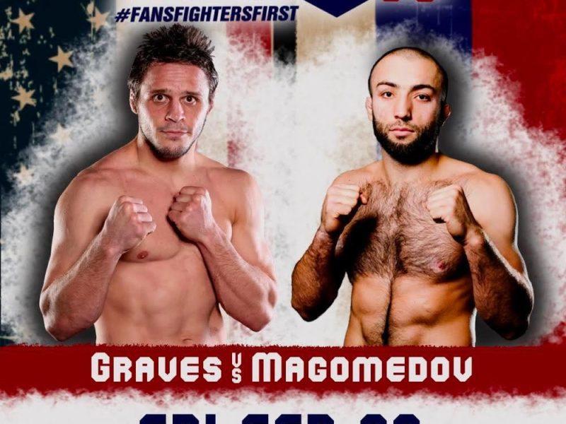 Graves-Magomedov title bout headlines Titan FC 59