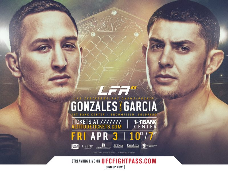 J-Train & Mean Machine to battle for Vacant LFA Featherweight title