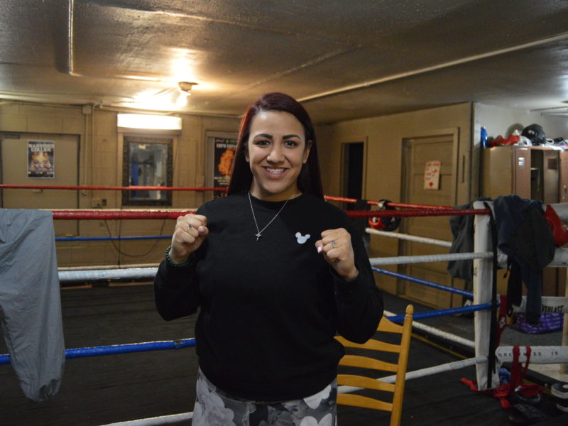 Jordanne Garcia- Plans to use her Boxing & look for the body shot at March Badness