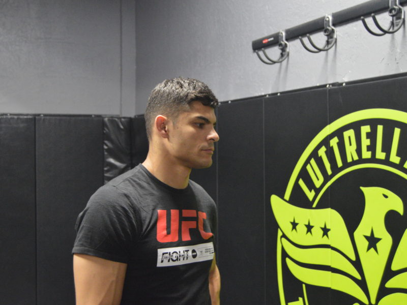 """Kazula"" Vargas on Training at Luttrell/Yee MMA & facing Brok Weaver, at UFC Rio Rancho"