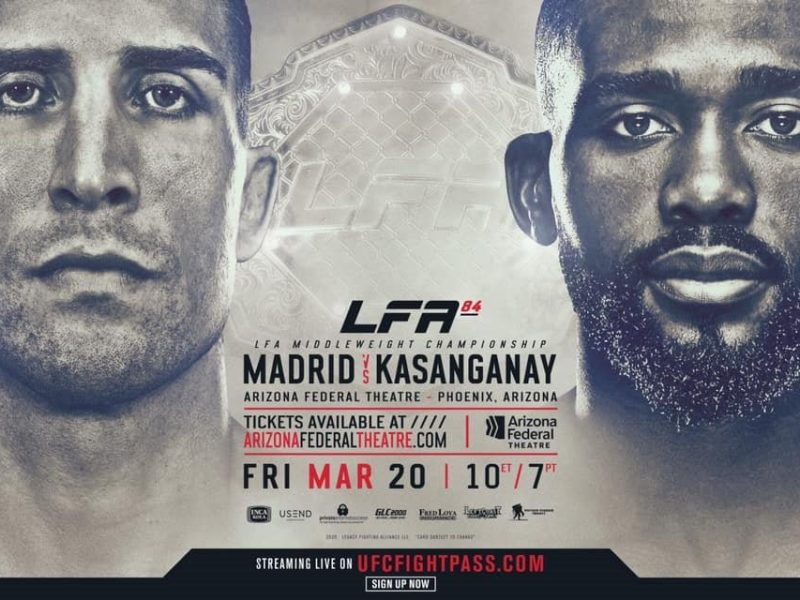 New Middleweight Champion to be Crowned at LFA 84