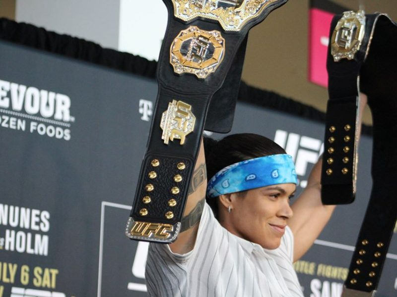 Nunes first featherweight title defense to come against Spencer